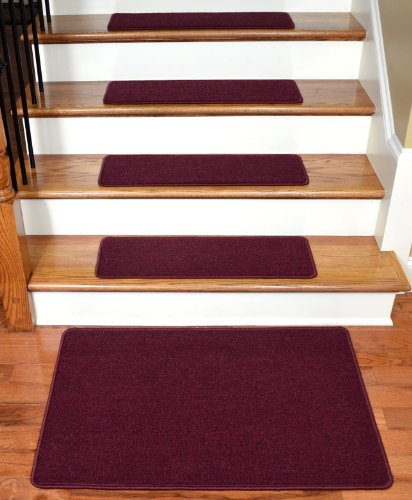Diy Stair Treads Out Of Flor Tiles: Dean Flooring Company Dean Serged DIY Carpet Stair Treads