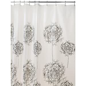 Amazon.com: InterDesign Allium 72-Inch by 72-Inch Shower Curtain ...