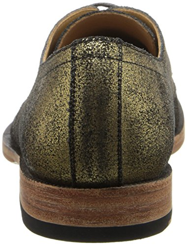 thumbnails of John Fluevog Women's Hadfield Oxford, Gold, 9 M US