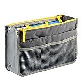 #6: Multipocket Handbag Organizer , Travel bag Make up organizer bag Women Men Casual travel bag