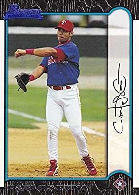 Carlos Pena 1999 Bowman Rookie Baseball Card #321
