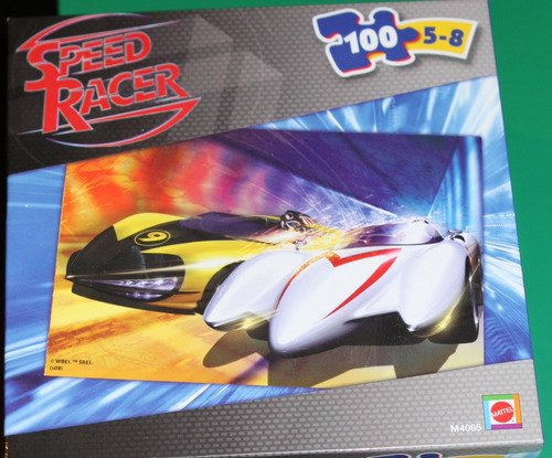 Speed Racer 100-Piece Puzzle