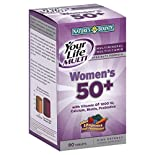Natures Bounty Your Life Multi Multimineral Multivitamin Specialty Formula, Women's 50+, Tablets, 90 tablets