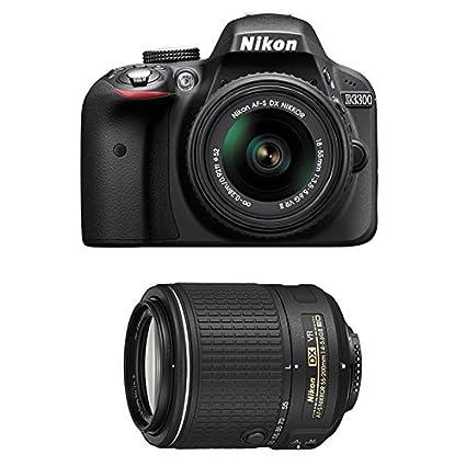 NIKON D3300 + 18-55 VR II + 55-200 VRII