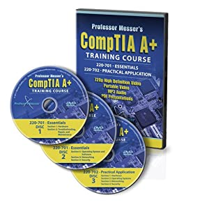 Professor Messer's CompTIA A+ Certification Training Course - 220-701 and 220-702