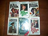 img - for The Poldark Saga: Ross Poldark; Demelza; Jeremy Poldark; Warleggan; The Black Moon; The Four Swans (PBS TV Series 6 Volume Boxed Set, Volumes 1-6) book / textbook / text book