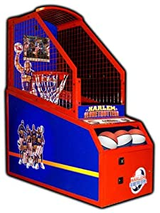 Skee Ball Harlem Globetrotters LED Basketball Redemption Game by Game Room Guys