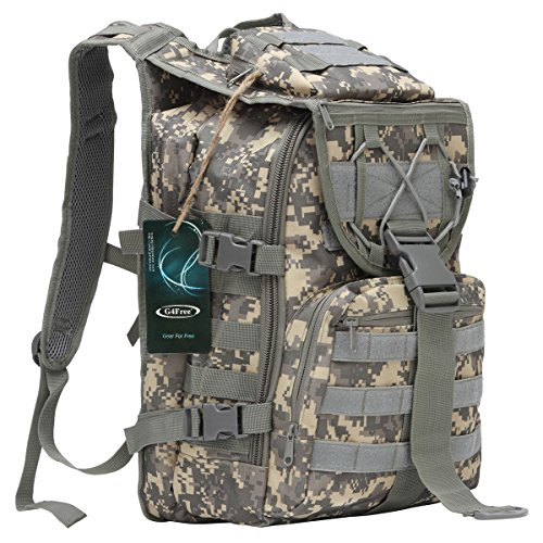 G4Free Tactical Rucksack Assault Backpack Outdoor Traveling Bag Camping Hiking Trekking Bag 15