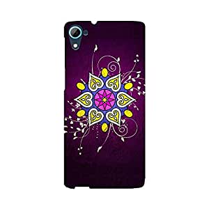 Skintice Designer Back Cover with direct 3D sublimation printing for HTC Desire 826