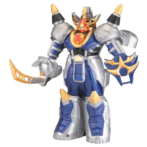 Power Ranger Jungle Fury Transforming Megazord - Rhino Steel Megazord