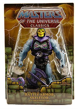 Buy Low Price Mattel HeMan Masters of the Universe Classics Exclusive Action Figure Battle Armor Skeletor (B004SHXHC4)