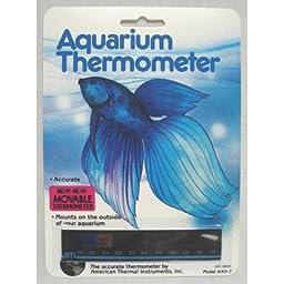 Liquid Crystal Horizontal Aquarium Thermometer