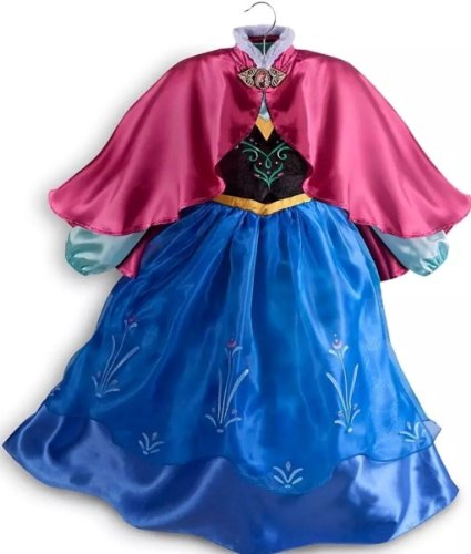 Disney Store Princess Anna Dress Costume 9/10