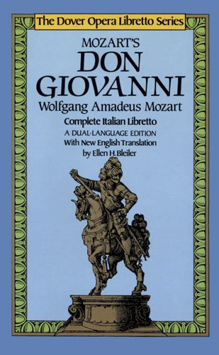 Don Giovanni (Dover Opera Libretto Series) (Italian and...