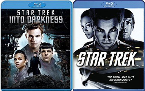 Star Trek Blu Ray 2 Pack 2 Disc Special Edition & Into The Darkness Sci-Fi Trekkie Set