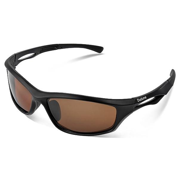 8c8e547100 Duduma Polarized Sports Sunglasses for Men Women Baseball Running Cycling  Fishing Driving Golf Softball Hiking TR90 ...