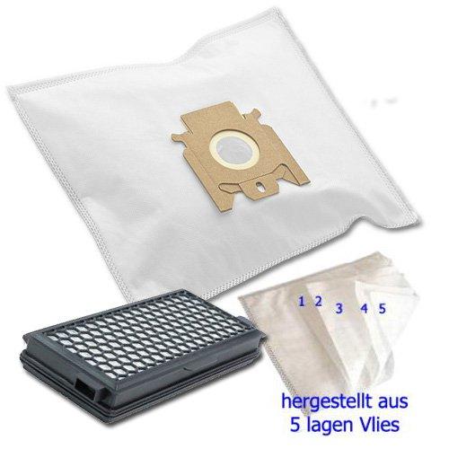 20 Staubsaugerbeutel + Hepa Filter für Miele S 5781 EcoLine S5