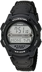 Casio Men's W756B-1AV Digital Sport Watch