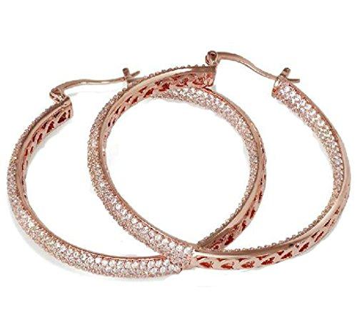 beydodo-alloy-gold-plated-womens-drop-earrings-annulus-sculpture-small-heart-shape-cz-rose-gold