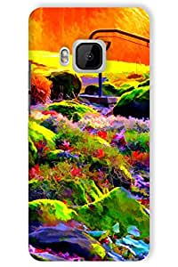 IndiaRangDe Hard Back Cover FOR HTC One M9e