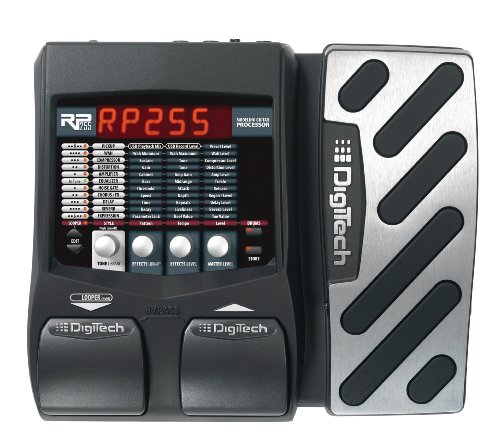 Digitech RP255 Modeling Guitar Processor