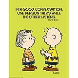 Eureka Peanuts Talk and Listen Poster