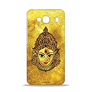 ezyPRNT Divine Maa Durga Beautiful Premium PC Plastic Mobile Back Case Cover for Xiaomi Redmi 2 Prime