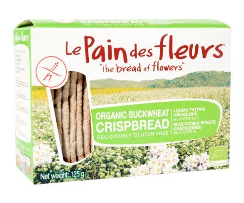 Le Pain des Fleurs Buckwheat Crispbread 125g x 1