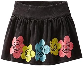 Hartstrings Big Girls' Big Girl Stretch Corduroy Skirt, Art Gray, 8