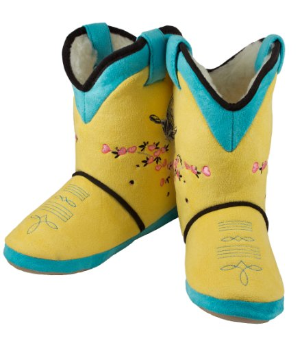 Women's Cicciabella Sunrise Boot Slippers Yellow, YELLOW, LG