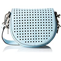 Rebecca Minkoff Astor Saddle Shoulder Bag (Sky Blue)