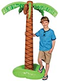 "Large Palm Tree Inflate Party Luau Hawaiian Decoration. 29"" X 5 Ft. Vinyl"