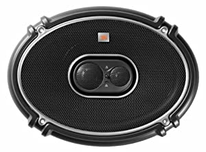 JBL GTO 938 3-Way Coax Car-Hifi Speakers (6 x 22.9 CM (9 Inches) 300 Watts, 94 dB) Pair, Black