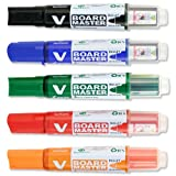 Pilot V-Board Master Drywipe Marker Begreen Bullet Tip Medium 4mm Assorted Ref 454300500 [Wallet 5]by Pilot