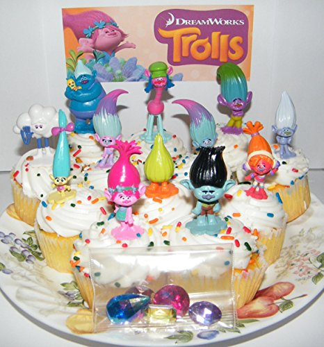 dreamworks-trolls-movie-deluxe-mini-cake-toppers-cupcake-decorations-set-of-17-with-figures-and-trea