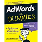 "AdWords For Dummies (For Dummies (Lifestyles Paperback))von ""Howie Jacobson"""