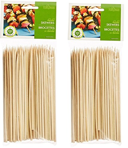 Fantastic Deal! Fox Run Brands Bamboo Skewers, 6-inch (set of 200)