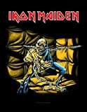 IRON MAIDEN IRON MAIDEN RÃCKENAUFNÃHER / BACKPATCH #7 PIECE OF MIND