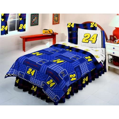 Amazon.com - Nascar Victory Bedding Jeff Gordon Twin Comforter