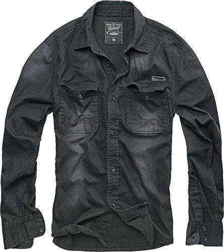 Brandit Hardee Camicia nero XL