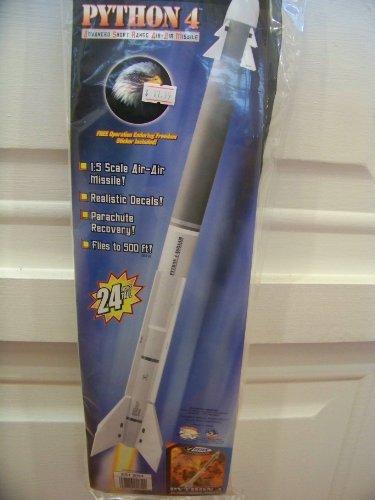 Python 4 Flying Model Rocket