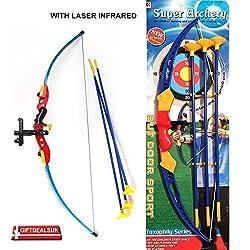 Tickles Super Archery Shoot Set Bow Arrow a toy for kids 63 cm