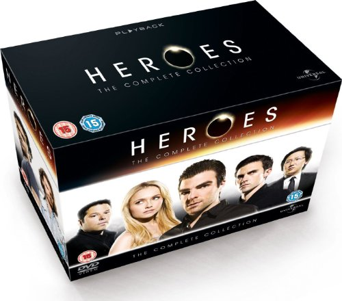 Heroes - Season 1-4 Complete (2012 Edition) [DVD] [2006]