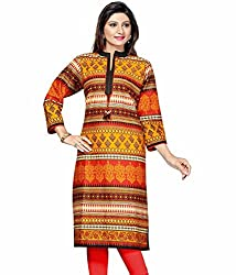 The Style Story Multicolor Cotton Kurti