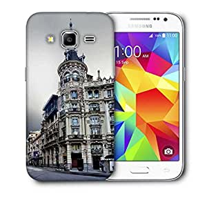 Snoogg Antique Buildings Printed Protective Phone Back Case Cover For Samsung Galaxy CORE PRIME