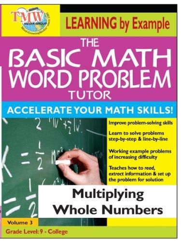 Basic Math Word Problem Tutor: Multiplying Whole Numbers