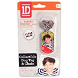 One Direction Dog Tag Necklace Chain - Louis