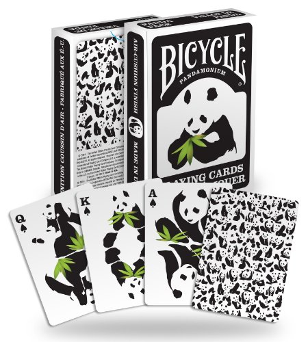 Best Review Of Bicycle Panda Playing Cards