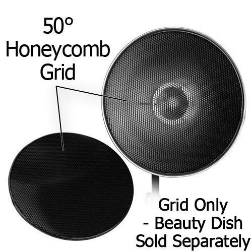 Fotodiox Pro, honeycomb Grid, for 22″ (56cm) Reflector, Beauty Dish, Beautydish