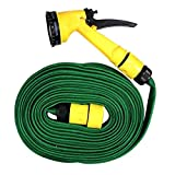 House Of Quirk 10 Meter Water Spray Gun For Home Bike Car Cleaning Gardening Plant Tree Watering Wash - Multifunction Garden Hose